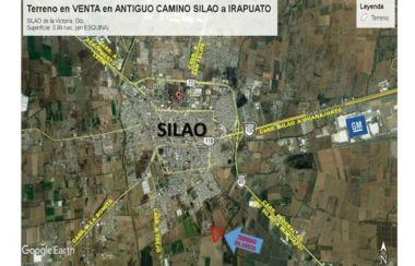 Terreno en VENTA 4 Ha Antigua Carr. Silao a Irapuato muy cerca de Silao Gto