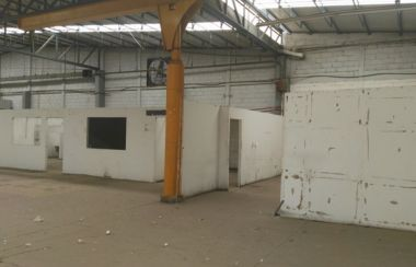 Bodega en renta 300 m² disponibles